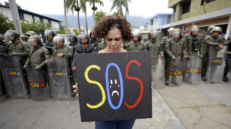 Debido a la crisis social, política y económica de Venezuela, muchas personas se vieron obligadas a exiliarse (Foto: JUAN BARRETO/AFP/Getty Images)