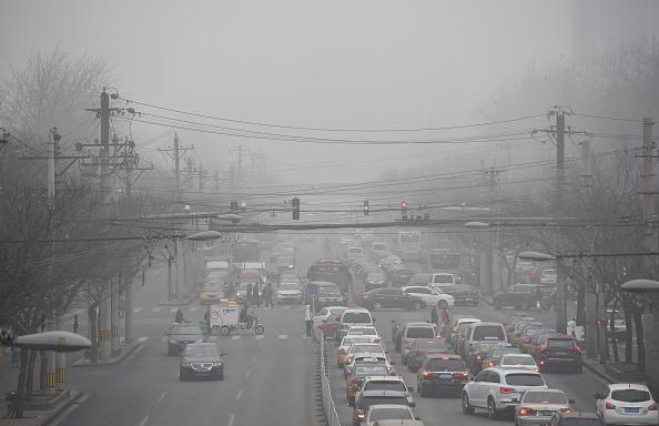 La contaminación atmosférica y sus peligros. (Foto: GREG BAKER/AFP/Getty Images)