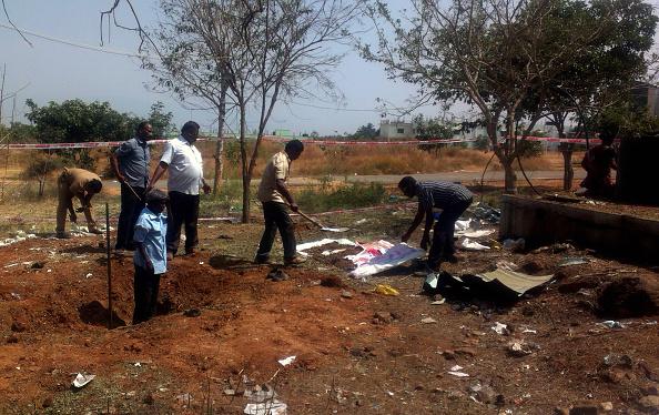 Autoridades indias inician investigación sobre muerte atribuida a caída de meteorito.  (Foto: STR/AFP/Getty Images)