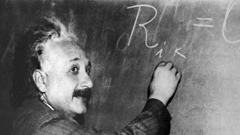 Detectan ondas gravitacionales 100 años después de que Einstein las predijera. (Foto: -/AFP/Getty Images)