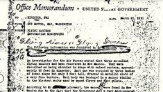 Memorándums desclasificados del FBI: ¿Platillos voladores con 9 extraterrestres adentro?