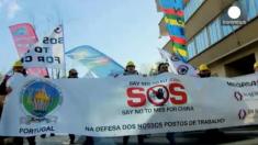 Luego de la manifestación europea, exigen medidas urgentes contra el dumping chino en el acero
