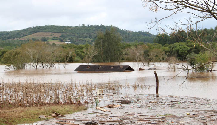 Inundaciones en Argentina. (Foto con fines ilustrativos: Wikimedia Commons)
