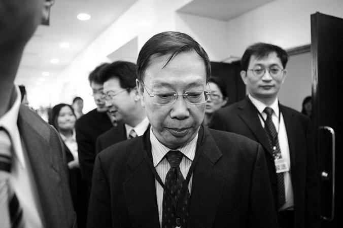 Huang Jiefu en una conferencia en Taipei, Taiwán, en 2010.