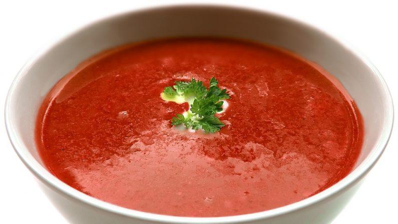Sopa de tomates. Pixabay