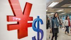 Yuan chino se derrumba