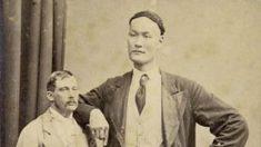 Sorprendentes fotos antiguas de hombres gigantes chinos de los tiempos imperiales