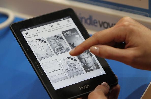 Kindle (DANIEL ROLAND/AFP/Getty Images)