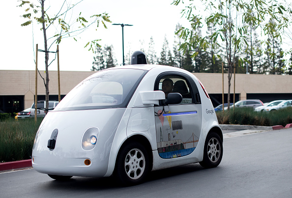 Coche autónomo de Google (Foto: NOAH BERGER/AFP/Getty Images)