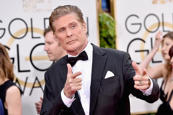 Actor David Hasselhoff participa de los premios Golden Globe Awards en el Beverly Hilton Hotel el 10 de enero 2016 en Beverly Hills, California. (John Shearer/Getty Images)