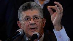 Venezuela: Ramos Allup acusa a militares de violar la Constitución