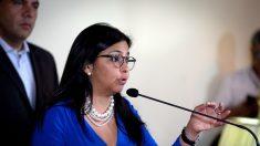 Delcy Rodríguez dijo que OEA no puede aplicar Carta Democrática a Venezuela