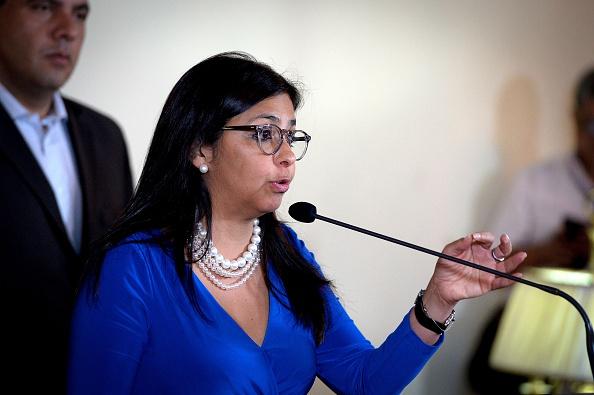 Delcy Rodríguez (Foto: FEDERICO PARRA/AFP/Getty Images)