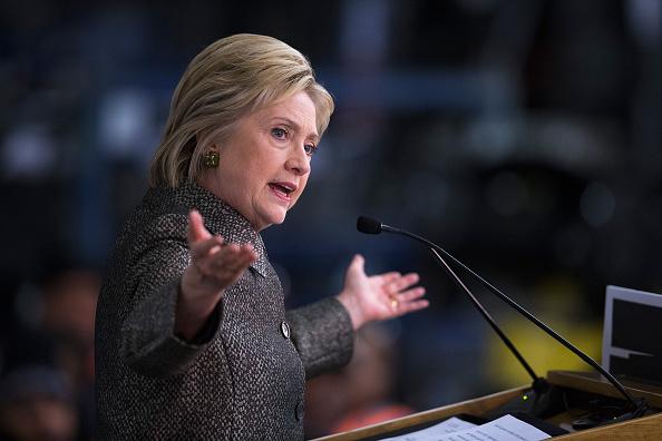 Hillary Clinton. (Foto: Scott Olson/Getty Images)