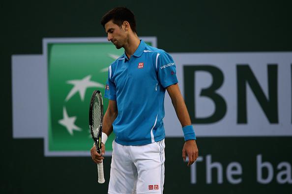 Novak Djokovic de Serbia. (Photo by Sean M. Haffey/Getty Images)