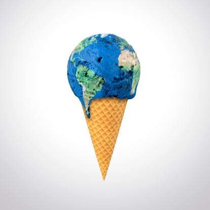 El cambio climático, obra conceptual (By: ANDRZEJ WOJCICKI/Getty)