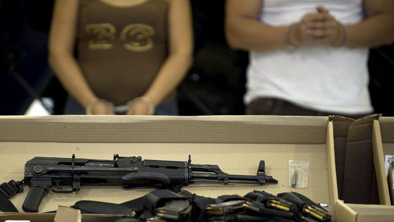 Detienen al presunto jefe del cártel de Sinaloa del estado mexicano de Sonora.  (Foto: LUIS ACOSTA/AFP/Getty Images)