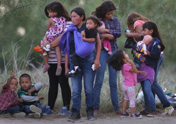 Al menos 175 migrantes desaparecieron entre enero de 2015 y enero de 2016, mientras que 21.000 migrantes sufrieron secuestros en México entre 2008 y 2009 (Foto: John Moore/Getty Images)