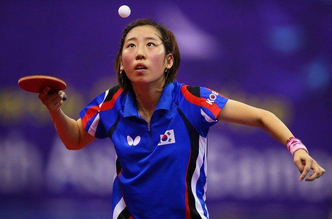 Yang Ha-eun de Corea del Sur en Incheon, Corea del Sur, el 02 de octubre de 2014. El Dr. Seo Hyo-seok ha ayudado a Ha-eun desde que ella fue joven, resultando en crecimiento, vigor y altura física. (Brendon Thorne/Imágenes Getty)