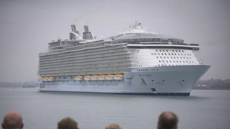 Llega a Puerto Rico el crucero más grande del mundo.  (Foto: Matt Cardy/Getty Images)