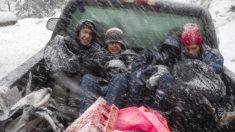 Tormenta invernal azota México