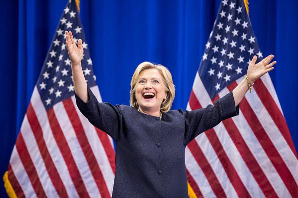 Hillary Clinton se lleva las primarias demócratas de Georgia. (Flor Scott Eisen/Getty Images)