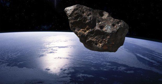 Imagen ilustrativa de un asteroide cercano a la Tierra. (NASA / JPL-Caltech)