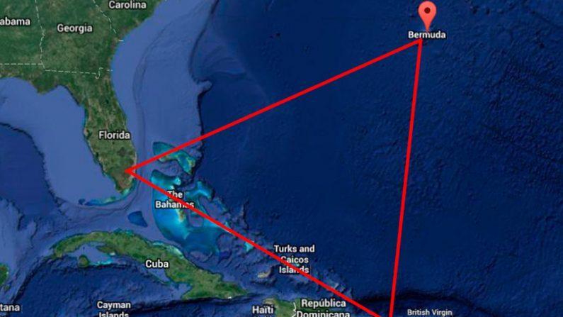 Triángulo de las Bermudas (Foto: Youtube)