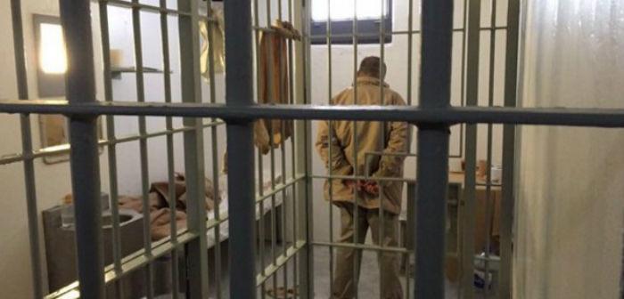 La imagen de El Chapo Guzmán en su celda en el penal del Altiplano. Foto: @CarlosLoret