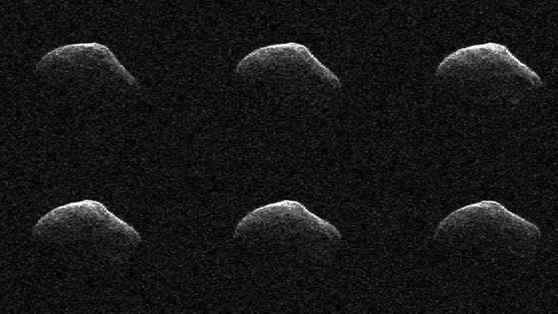 Imagen del cometa a 3,6 millones de kilómetros de la Tierra. (NASA)