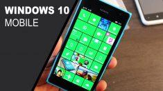 Microsoft dice estar comprometido con Windows 10 Mobile