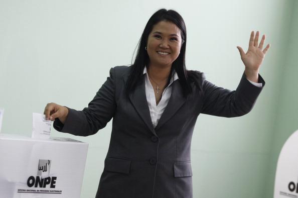 Keiko Pujimori (Raul Sifuentes/LatinContent/Getty Images)