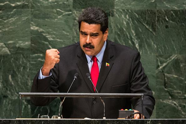 Nicolás Maduro (Foto por Andrew Burton/Getty Images)