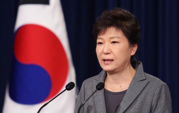La presidenta surcoreana, Park Geun-hye, advirtió sobre otra prueba nuclear de Corea del Norte. (Precidencia de Corea via Getty Images)