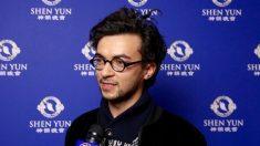 """Diseñador de modas inspirado por la """"explosión de colores"""" y magia de Shen Yun"""