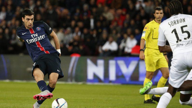 El jugador argentino Javier Pastore podría integrar las filas del FC  Barcelona. (THOMAS SAMSON/AFP/Getty Images)