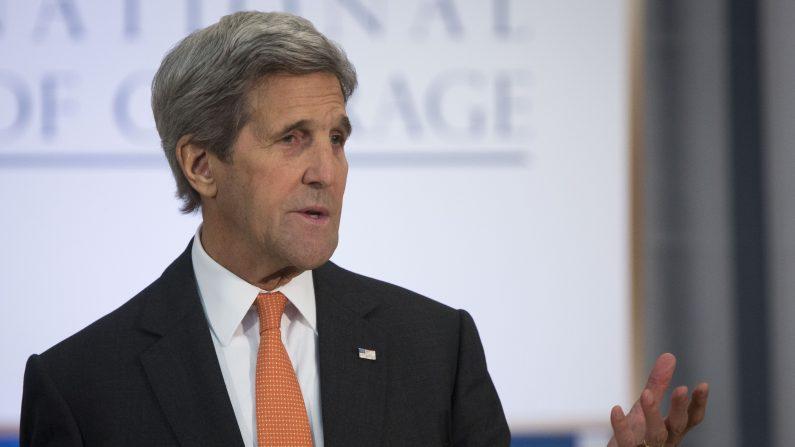 El Secretario de Estado de Estados Unidos John Kerry. (Drew Angerer/Getty Images)