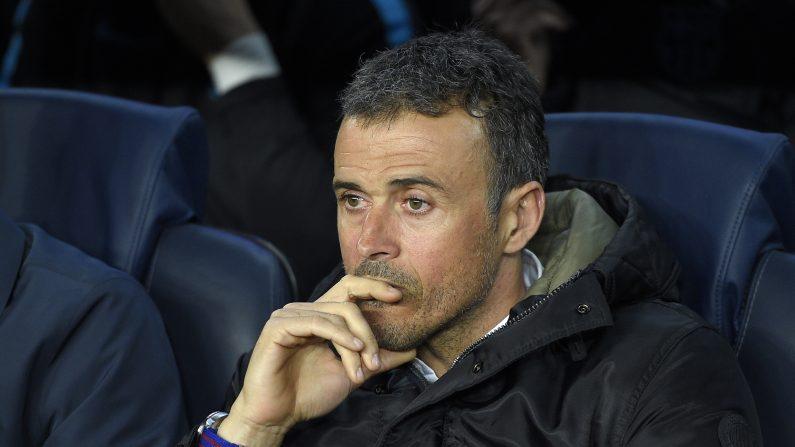 Luis Enrique en el FC  Barcelona. (LLUIS GENE/AFP/Getty Images)