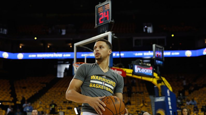 Stephen Curry. (Lachlan Cunningham/Getty Images)