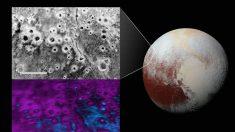 NASA descubrió cráteres inexplicables en Plutón