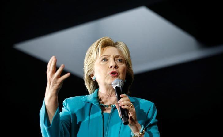 La precandidata demócrata Hillary Clinton (REUTERS/Lucy Nicholson)