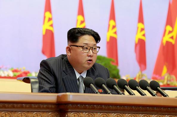 Kim Jong-un (Foto: STR/AFP/Getty Images)