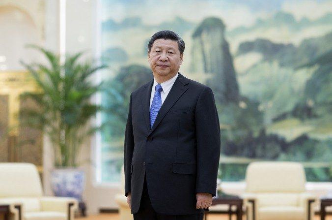 El líder del Partido Comunista chino, Xi Jinping, en el Gran Palacio del Pueblo en Beijing el 25 de marzo de 2016. (Lintao ZHANG / AFP / Getty Images)