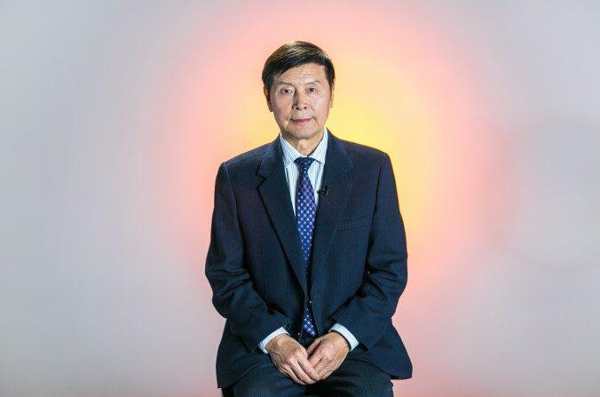 Li Youfu, president e del jurado de la competencia de artes marciales de NTD en Nueva York, el 16 de mayo de 2016. (Benjmin Chasteen/La Gran Época)