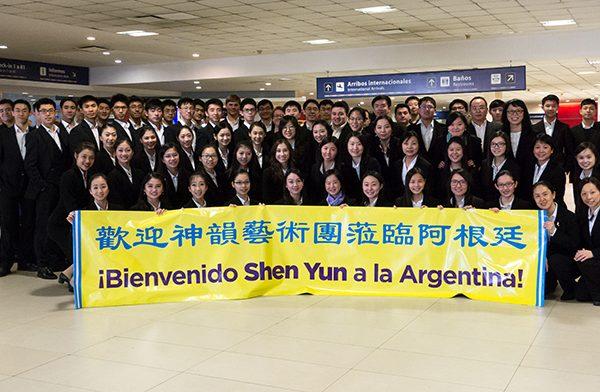 Ya llegó Shen Yun a la Argentina para cerrar su gira 2016