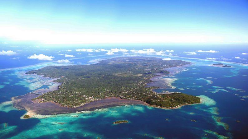 Vista aérea de las Islas Salomón en Indonesia. (Getty Images/creative)
