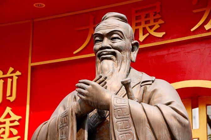 Estatua de Confucio, filosofo chino. (Pixabay.com)