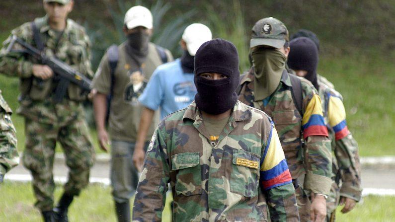 Guerrilleros de as FARC (Foto archivo)