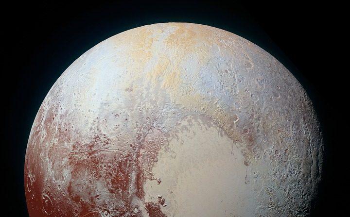 Planeta Plutón. Pixabay
