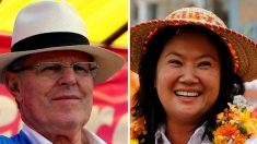 Fujimori y Kuczynski, cabeza a cabeza en elecciones presidenciales de Perú